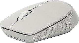 Rapoo M100 多模式无线静音光学鼠标 浅灰色