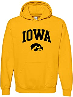 UGP 校园服装 NCAA 官方*学院 - 大学队彩色拱形徽标连帽衫