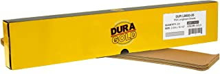 Dura-Gold – 优质 – 600 粒砂金 – 预裁长板纸 2-3/4 英寸(约 6.4 厘米)宽,16-1/2 英寸(约 41.6 厘米)长 – PSA 自粘粘性长板砂纸 – 一盒 25 张砂纸抛光纸