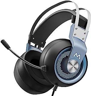 Mpow EG3 Pro 游戏耳机,3D 环绕声,PS4 Xbox One 带降噪麦克风,游戏聊天耳机,头戴式游戏耳机,电脑,Xbox 1,PS4,任天堂开关