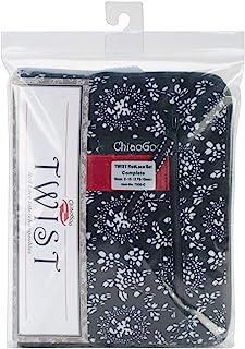 ChiaoGoo Twist 红色蕾丝可互换不锈钢针织针套装 Complete 7500-C