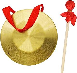GTHER 15 厘米 5.9 英寸中国传统打击乐器功 带木锤打击手槌和悬挂绳