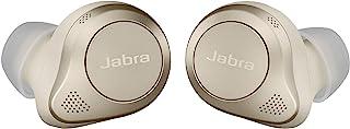 Jabra 捷波朗 Elite 85t True 无线蓝牙耳塞,金色米色 – 高级降噪耳塞,带充电盒,适用于通话和音乐 – 无线耳机具有卓越的声音和高级舒适性