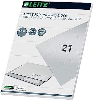 Leitz PC-可书写通用标签 70 × 42.3 毫米,白色,61780001