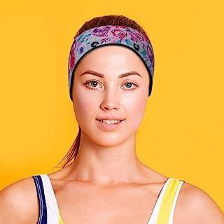 Will & Fox 游泳头带耳环,适合成人和儿童*选择防止耳朵中的水 - 免费游泳耳塞