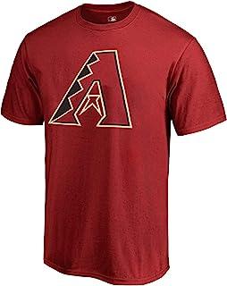 Outerstuff MLB 青年 8-20 球队颜色酷炫基地涤纶性能主要标志 T 恤