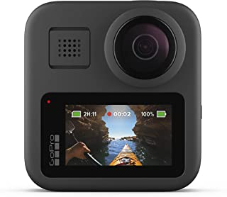 GoPro MAX — Waterproof 360 + Traditional Camera with Touch Screen Spherical 5.6K30 HD Video 16.6MP 360 Photos 1080p Live S...