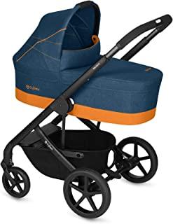 CYBEX Gold 组合婴儿车 Balios S 带婴儿车附件 Cot S,从出生至17公斤(大约4岁),热带蓝