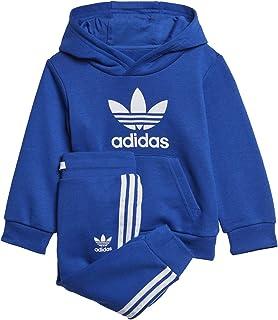 adidas 阿迪达斯 Originals 婴儿三叶草连帽衫套装