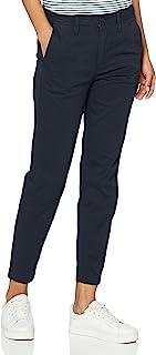 G-STAR RAW G-STAR 女式 Bronson MID 修身斜纹棉布 WMN 裤子