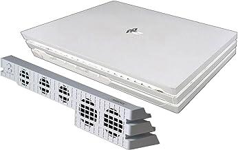 Mcbazel Dobe PS4 Pro USB 外部 5 风扇温度冷却器 适用于索尼 Playstation 4 Pro 控制台白色