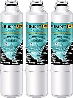 ICEPURE PRO DA29-00020B NSF 401&473&53 认证冰箱滤水器,更换三星 DA29-00020B, DA29-00020A, HAF-CIN/EXP, DA29-00020B-1, 3 件装