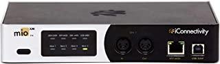 iConnectivity 接口 4 英寸 x 4 输出 5 针 DIN-MIDI 端口 (mioXM)