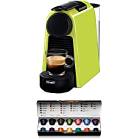 De'Longhi 德龙 Nespresso Essenza Mini EN 85L胶囊咖啡机 欢迎套装中包含不同口味的…