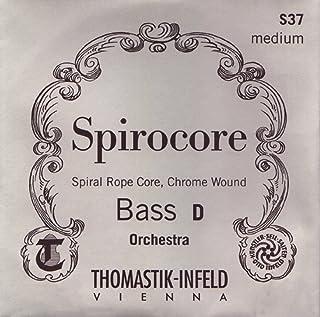 Thomastik 单弦 适用于 Kontrabass 1/4 Spirocore - 电子弦螺旋器,镀铬绕管调控,中号