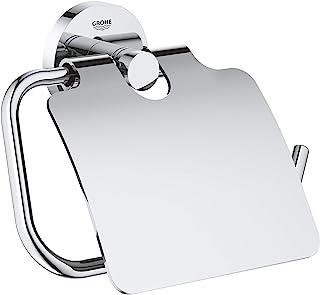 Grohe 高仪 Essentials 厕所纸巾架,带盖,镀铬40367001