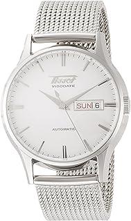 [TISSOT] TISSOT 腕表 传统 Viso约会 自动 银色表盘 手链 T0194301103100 男士 【正规进口商品】