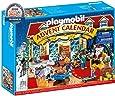 Playmobil 70188 圣诞节日历 玩具商店 4 岁以上 彩色 均码