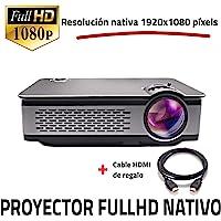 全高清 1080P 原生投影仪,UNICVIEW FHD900 投影仪,2019 年新款投影仪,便携式 LED 家用影院…