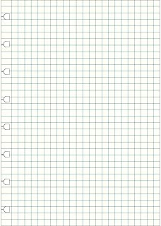 filofax 斐来仕 152905 NOTEBOOKS A5 白色方格页 活页本内页 活页替芯 笔记本内页