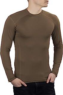 281Z 男式*吸湿排汗衬衫 - 战术训练*专业 - Polartec Delta - 凉爽触感(狼棕色)