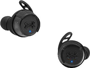 JBL UA True 无线闪光 X - Under Armour 安德玛入耳式防水运动耳机 黑色