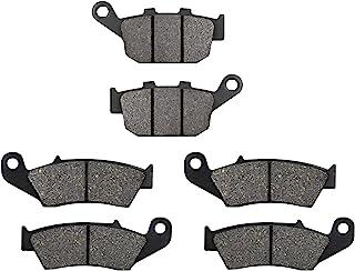 XULONG 摩托车替换前后刹车片适用于本田 XL600V Transalp 600 1997-2000 / XL650V Transalp 650 2000-2007 / XL700V Transalp 700(2 个活塞前卡钳)2008-2011