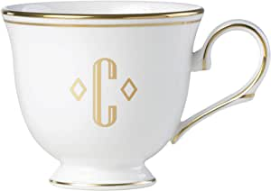 Lenox 联邦金块交织字母餐具 字母 C 872906