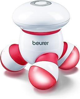Beurer 带LED 灯的手持式迷你身体按摩器,轻柔舒适的振动,易握手柄,便携,轻柔的压力点按摩,按摩工具易于手掌贴合,含电池,MG16