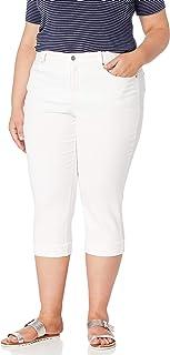 NYDJ 女士加大码玛丽莲七分袖牛仔裤