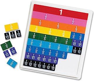 Learning Resources 彩虹碎片瓷砖,学习早期数学技能,视觉辅助,适合7岁以上的人群