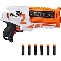NERF 热火 Ultra Two 电动冲击波-快速后装弹-包括6个Nerf Ultra飞镖-仅与Nerf Ultra飞…