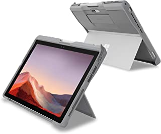 Kensington Blackbelt 2nd Degree Rugged 手机壳 适用于 Surface Pro 7、6、5、4 - 银色 (K97802WW)