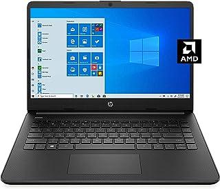 HP 惠普 14 英寸高清 WLED 背光触摸屏笔记本电脑,AMD 3020e 高达 2.6GHz,4GB DDR4,64GB eMMC,WiFi,蓝牙,网络摄像头,HDMI,媒体卡读卡器,Windows 10 S,Microsoft 365,...
