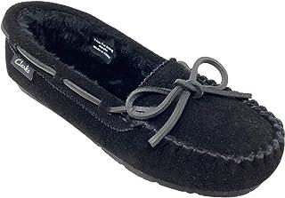 Clarks 其乐 女式 麂皮 Moc 室内外拖鞋