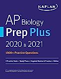 AP Biology Prep Plus 2020 & 2021: 3 Practice Tests + Study P…