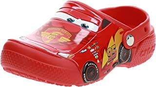 crocs 卡骆驰 Funlab 儿童款小轿车图案洞洞鞋