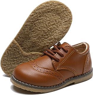 BENHERO 男童女童乐福鞋柔软合成皮革船礼服鞋平底鞋(幼儿/小童)