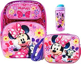 Minnie Mouse 亮片背包,带保温午餐盒和水瓶