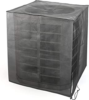 Luxiv 全网眼*空调罩,四季网眼空调叶防护交流盖,适用于户外*空调单元(31.5 x 31.5 x 35.5)