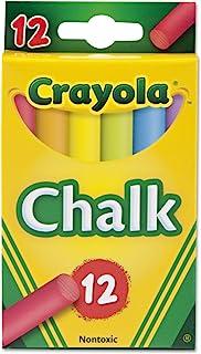 Crayola 粉笔,多色,每盒 12 支(12 支装),总共 144 支粉笔