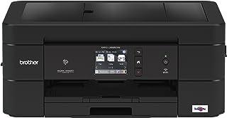 Brother 无线一体式喷墨打印机 MFC-J895DW,多功能彩色打印机,双面打印,NFC 一键连接移动打印,亚马逊 Dash 补充
