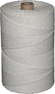 T.W Evans Cordage 09-601 数字 - 60 颗抛光牛肉棉双绞花,1 磅管,6810 英尺