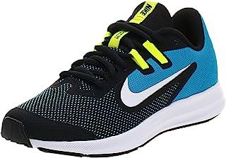 Nike 耐克 中性儿童 Downshifter 9 (Gs) 轻便运动鞋,黑色,欧码