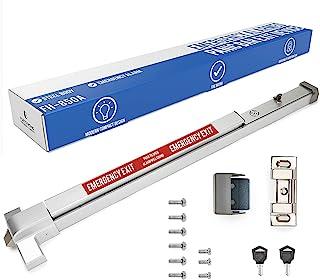 FH-850A 防震紧急酒吧出货设备 - 大警告攻击条带警告贴纸 - UL 认证 - 安装简单