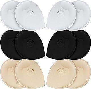 文胸垫插入,URSMART 插入文胸罩杯替换文胸垫女士舒适运动杯适用于运动文胸比基尼文胸