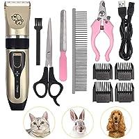 CAMWAY 宠物狗剪 *修剪器 动物毛发专业电动低噪音可充电剃须刀套装