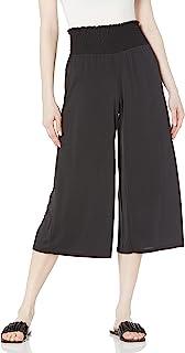 kensie 女士莫代尔针织混色长裤