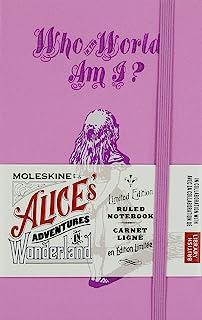 Moleskine 笔记本 限定版 爱丽丝梦游仙境 横格 ポケット