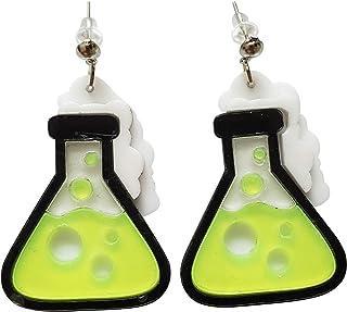 CutieJewelry *瓶科学实验室化学罐吊坠可爱耳环